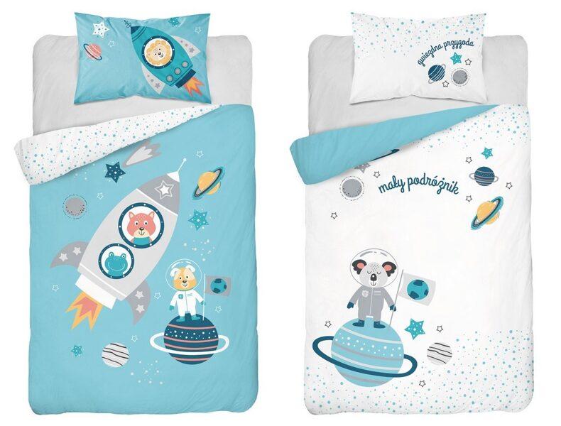 Divpusējs gultas veļas komplekts zīdaiņiem PPH-45