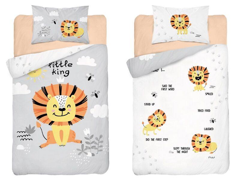 Divpusējs gultas veļas komplekts zīdaiņiem PPH-49
